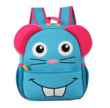 Lovely Carton Neopreno Mochilas / Bolsa de la escuela con Soft Back respirable