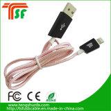 Круглый USB-кабель для зарядки и передачи данных для iPhone