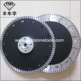 두 배는 플랜지 Gct를 가진 톱날이 플랜지를 붙이기 위하여 톱날 (115-230mm)를