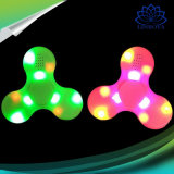 Mix Colors LED Light Fidget Spinner à main Haut-parleur Bluetooth avec matériau ABS