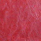 Gebrochenes Korn-Öl-Großhandelswachs Belüftung-künstliches Sofa-Leder (908#)