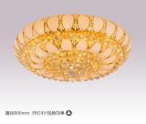 Lampe décorative de plafond d'hôtel de verre cristal B20-638