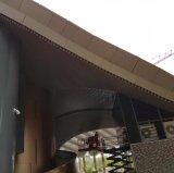 Plafond en aluminium de cloison d'extrusion avec le fini d'enduit de PVDF