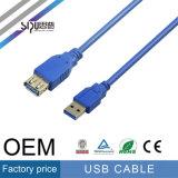 Macho de alta velocidade do cabo de extensão 2.0 do USB de Sipu à fêmea
