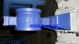Tipo elétrico válvula da bolacha de esfera da V-Porta (GVQ970F)