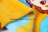 Flanela impressa do poliéster/tela coral do velo - 14012-10 1#