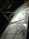 床のためのイタリア白い大理石のArabascata Biancoの大理石の平板