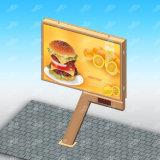 Pubblicità del tabellone per le affissioni Backlit Digitahi della visualizzazione LED della scheda