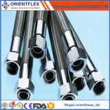 Tuyau en tôle flexible à haute teneur en téflon R14 en acier inoxydable
