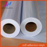 잉크 제트 선전용 PVC 까만 방수 자동 접착 비닐
