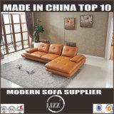 Lizz eindeutige Art L Form-Leder-Sofa