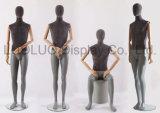 Neues Entwurfs-Leinen eingewickeltes männliches Mannequin mit den hölzernen Armen