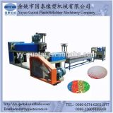 時間のプラスチックリサイクルの造粒機ごとの工場供給50-500kg