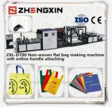 Saco de compra não tecido da forma que faz a máquina (ZXL-D700)