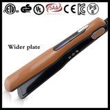 Straightener iónico do cabelo das placas largas da qualidade 450f do salão de beleza