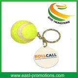 Fördernder kundenspezifischer Tennis-Plastik Keychain