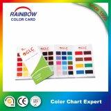 乳剤のエポキシの床のペンキカラーカードのための印刷サービス
