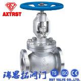 L'acier inoxydable de la norme ANSI 150lb/Wcb a bridé robinet d'arrêt sphérique