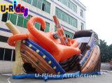 De reuze van het overzeese van de Octopus Opblaasbare Dia wereldThema voor Speelplaats
