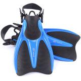 Aleta aberta curta adulta profissional do mergulho do salto de EVA