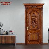 Portello di legno interno di Soild della stanza del portello di entrata dell'appartamento (GSP2-007)
