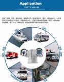 20X 2.0MP 100mの夜間視界のパトカーの監視HD IP IR PTZのカメラ(SHJ-HD-TA)
