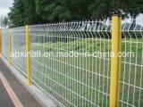 Weiße Farbe geschweißter Maschendraht-Zaun-Pfosten 50*200mm