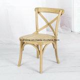 Малыши креста задние деревянные обедая стул (RCH-4001-11)