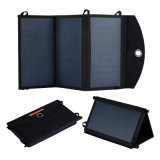 o carregador do banco da potência 20W solar com 2*2.4A Dual portas do USB
