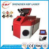 máquina de soldadura do ponto do laser 100W para a jóia