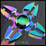 Filatore di irrequietezza della mano dei giocattoli del metallo della versione di sforzo della lega di alluminio di EDC anti