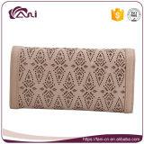 Carpetas de cuero de la elegancia para las señoras, señora Purse de la manera de 2 colores para la venta