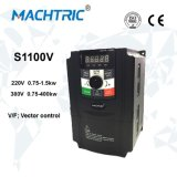 기계를 위한 에너지 절약 벡터 제어 380VAC 주파수 변환기