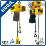 Portable al por mayor alzamiento de cadena eléctrico de 1 tonelada con velocidad doble