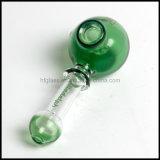 Verde forato di vetro del tubo della mano del cucchiaio di Lladelph multi