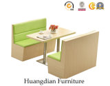 Cabina de madera del estilo moderno moderno de los muebles del café para la venta (HD490)