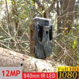 940nm Motion Triggered Game Stealth CMOS Trail Hunting Camera com Painel Solar Extenal Opcional