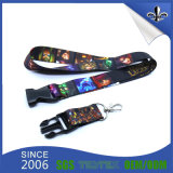 Hot Sale Flat Polyester Screen Imported Lanyard with Logo