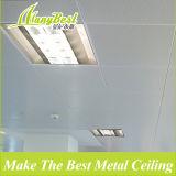 600 * 600 Telhado de teto de alumínio liso e perforado