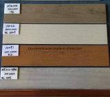 Azulejos de suelo rústicos de madera de la cerámica del material de construcción