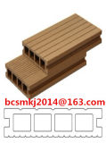 中国標準屋外の耐久のひび抵抗力があるWPCのDecking Hy150h30