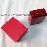 Joyería de madera del embalaje del regalo pendiente caja de visualización