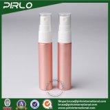 frasco plástico do pulverizador do animal de estimação cor-de-rosa da cor 12ml com o frasco diário cosmético do pulverizador da bomba do uso do pulverizador de perfume do frasco do pulverizador do pulverizador e do tampão