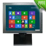 Caja de metal 5.4 Alambres Resistive entrada 15/17/19 Inch Abrir Monitor de la pantalla táctil del marco