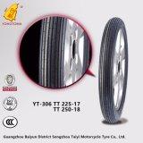 Muster Motorcyle Gummireifen-Zubehör der China-Oberseite-3-17 der Straßen-3-18