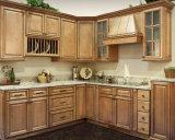 Bck nós gabinetes de cozinha da madeira contínua de estilo