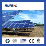 太陽農場のための水平の単一の軸線の太陽追跡者