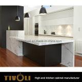 組み込みの台所食料貯蔵室デザイン純木の島のベンチの上の台所家具(AP061)