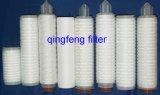 Cartuccia di filtro dalla fibra di vetro per prefiltrazione dei liquidi e del gas