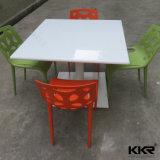 Tavolino da salotto di superficie solido di marmo bianco 170227 di Corian
